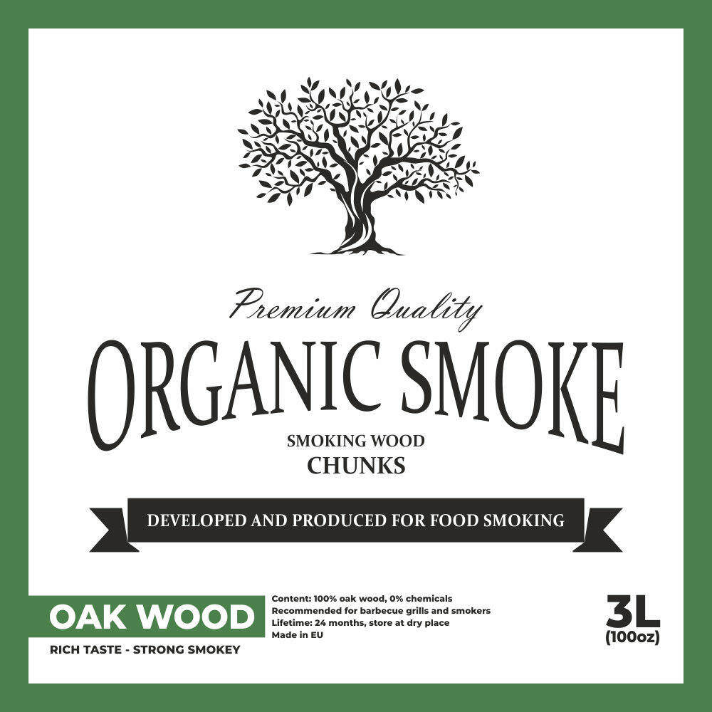 Tölgy füstölő chips